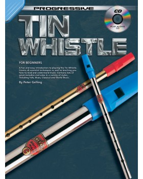 Progressive Tin Whistle - Teach Yourself How to Play Tin Whistle