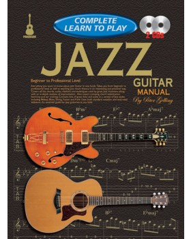 Progressive Complete Learn To Play Jazz Guitar Manual - Teach Yourself How to Play Guitar