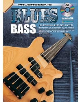 Progressive Blues Bass - Teach Yourself How to Play Bass Guitar