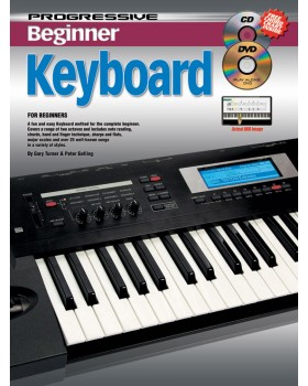 Progressive Beginner Keyboard - Teach Yourself How to Play Keyboard