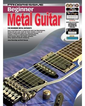 Progressive Beginner Metal Guitar - Teach Yourself How to Play Guitar