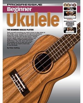 Progressive Beginner Ukulele - Teach Yourself How to Play Ukulele