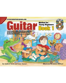 Progressive Guitar Method for Young Beginners - Book 1 - How to Play Guitar for Kids