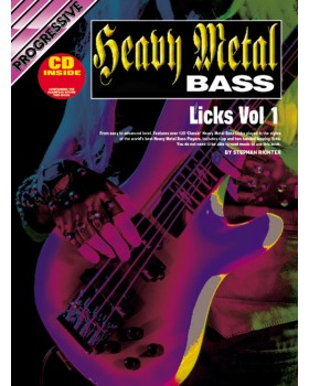 Progressive Metal Bass Licks - Volume 1 - Teach Yourself How to Play Bass Guitar