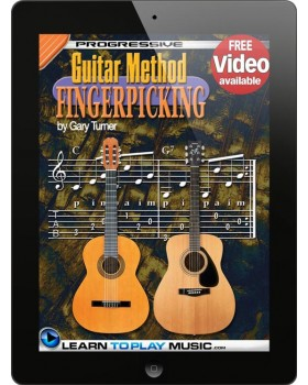 Fingerstyle Guitar Lessons for Beginners - Teach Yourself How to Play Guitar (Free Video Available)