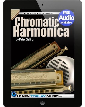 Chromatic Harmonica Lessons for Beginners - Teach Yourself How to Play Harmonica (Free Audio Available)