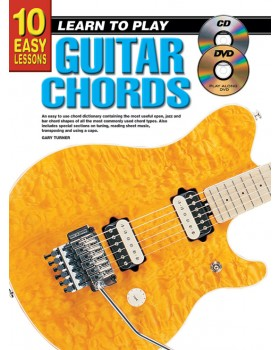 10 Easy Lessons - Learn To Play Guitar Chords - Teach Yourself How to Play Guitar