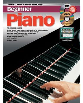 Progressive Beginner Piano - Teach Yourself How to Play Piano