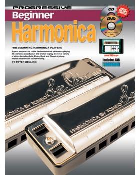 Progressive Beginner Harmonica - Teach Yourself How to Play Harmonica