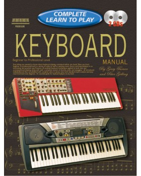 Progressive Complete Learn To Play Keyboard Manual - Teach Yourself How to Play Keyboard
