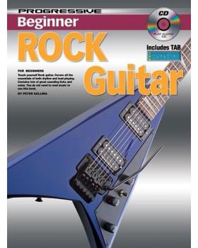 Progressive Beginner Rock Guitar - Teach Yourself How to Play Guitar