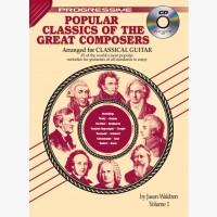 Progressive Popular Classics of the Great Composers - Volume 1