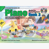 Progressive Piano Method for Young Beginners - Book 3
