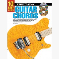 10 Easy Lessons - Learn To Play Guitar Chords