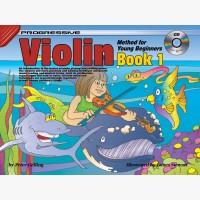 Progressive Violin Method for Young Beginners - Book 1