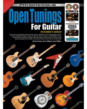 Progressive Open Tunings for Guitar - Teach Yourself How to Play Guitar