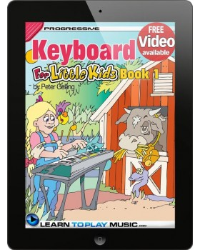 Keyboard Lessons for Kids - Book 1 - How to Play Keyboard for Kids (Free Video Available)