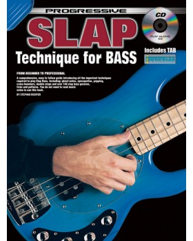 Progressive Slap Technique for Bass - Teach Yourself How to Play Bass Guitar