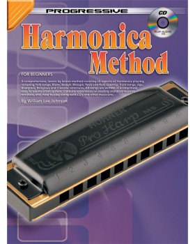 Progressive Harmonica Method - Teach Yourself How to Play Harmonica