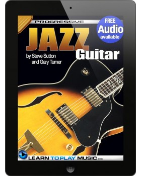 Jazz Guitar Lessons for Beginners - Teach Yourself How to Play Guitar (Free Audio Available)