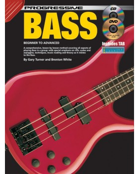 Progressive Bass - Teach Yourself How to Play Bass Guitar
