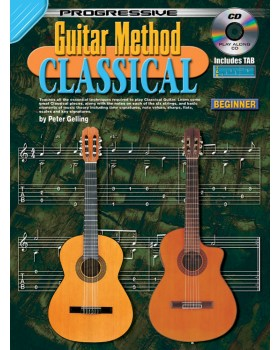 Progressive Guitar Method - Classical - Teach Yourself How to Play Classical Guitar