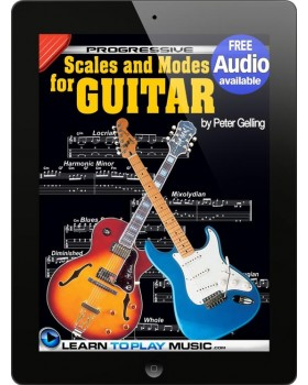 Lead Guitar Lessons - Guitar Scales and Modes - Teach Yourself How to Play Guitar (Free Video Available)