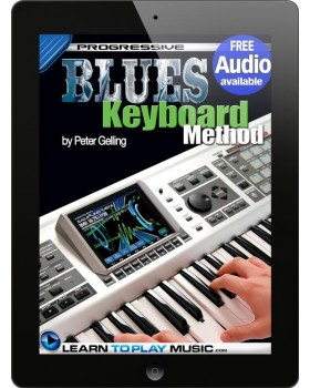 Blues Keyboard Lessons for Beginners - Teach Yourself How to Play Keyboard (Free Audio Available)