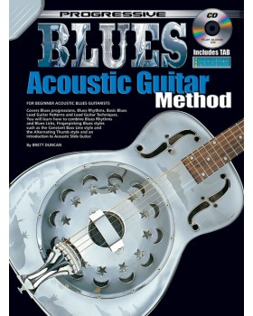 Progressive Blues Acoustic Guitar Method - Teach Yourself How to Play Guitar