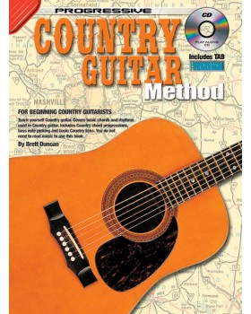Progressive Country Guitar Method - Teach Yourself How to Play Guitar