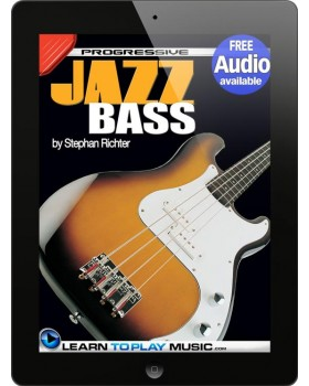 Jazz Bass Guitar Lessons for Beginners - Teach Yourself How to Play Bass Guitar (Free Audio Available)