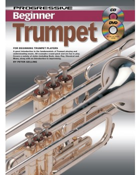 Progressive Beginner Trumpet - Teach Yourself How to Play Trumpet