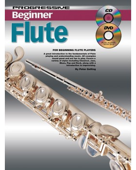 Progressive Beginner Flute - Teach Yourself How to Play Flute