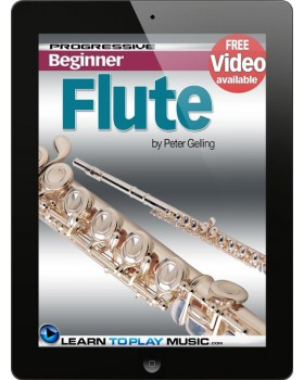 Flute Lessons for Beginners - Teach Yourself How to Play Flute (Free Video Available)