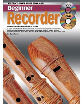 Progressive Beginner Recorder - Teach Yourself How to Play the Recorder