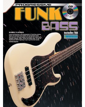 Progressive Funk Bass - Teach Yourself How to Play Bass Guitar