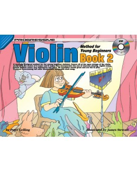 Progressive Violin Method for Young Beginners - Book 2 - How to Play Violin for Kids