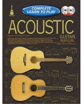 Progressive Complete Learn To Play Acoustic Guitar Manual - Teach Yourself How to Play Guitar