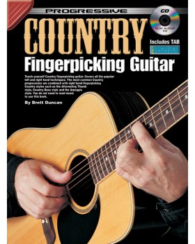 Progressive Country Fingerpicking Guitar - Teach Yourself How to Play Guitar