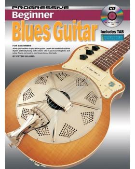 Progressive Beginner Blues Guitar - Teach Yourself How to Play Guitar