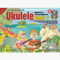 Progressive Ukulele Method for Young Beginners - Book 1