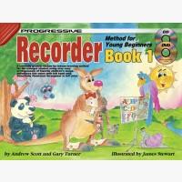 Progressive Recorder Method for Young Beginners - Book 1