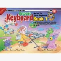 Progressive Electronic Keyboard Method for Young Beginners - Book 1