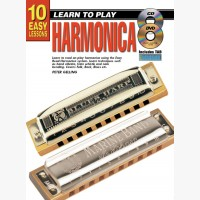 10 Easy Lessons - Learn To Play Harmonica