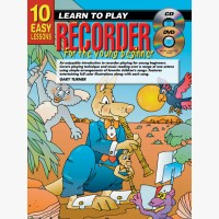 10 Easy Lessons - Learn To Play Recorder for Young Beginners