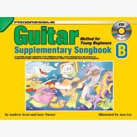 Progressive Guitar Method for Young Beginners - Supplementary Songbook B