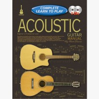 Progressive Complete Learn To Play Acoustic Guitar Manual