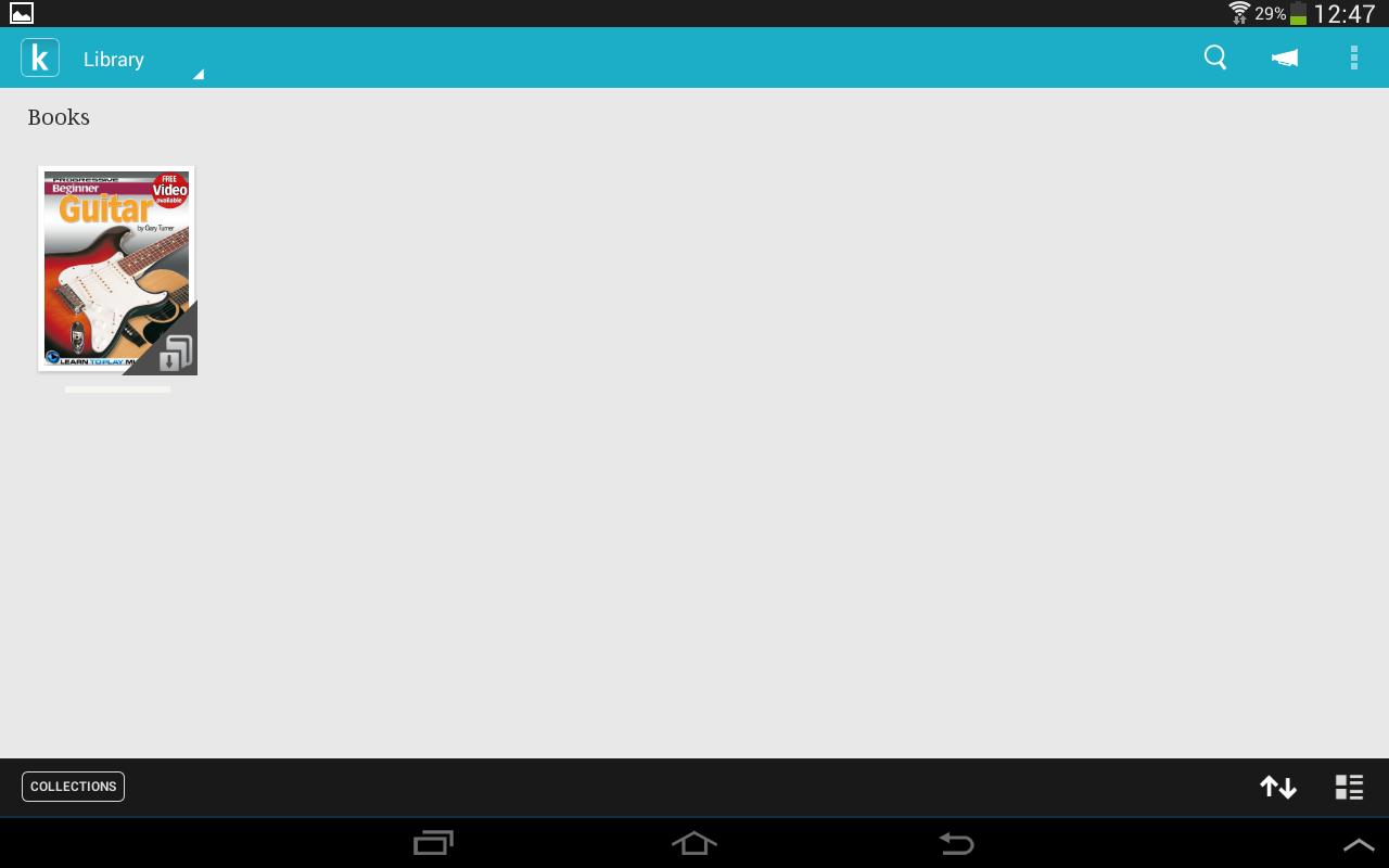 Samsung Galaxy Tab 2: Kobo Reader