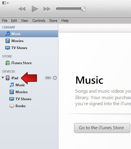 iTunes: iPad Loaded