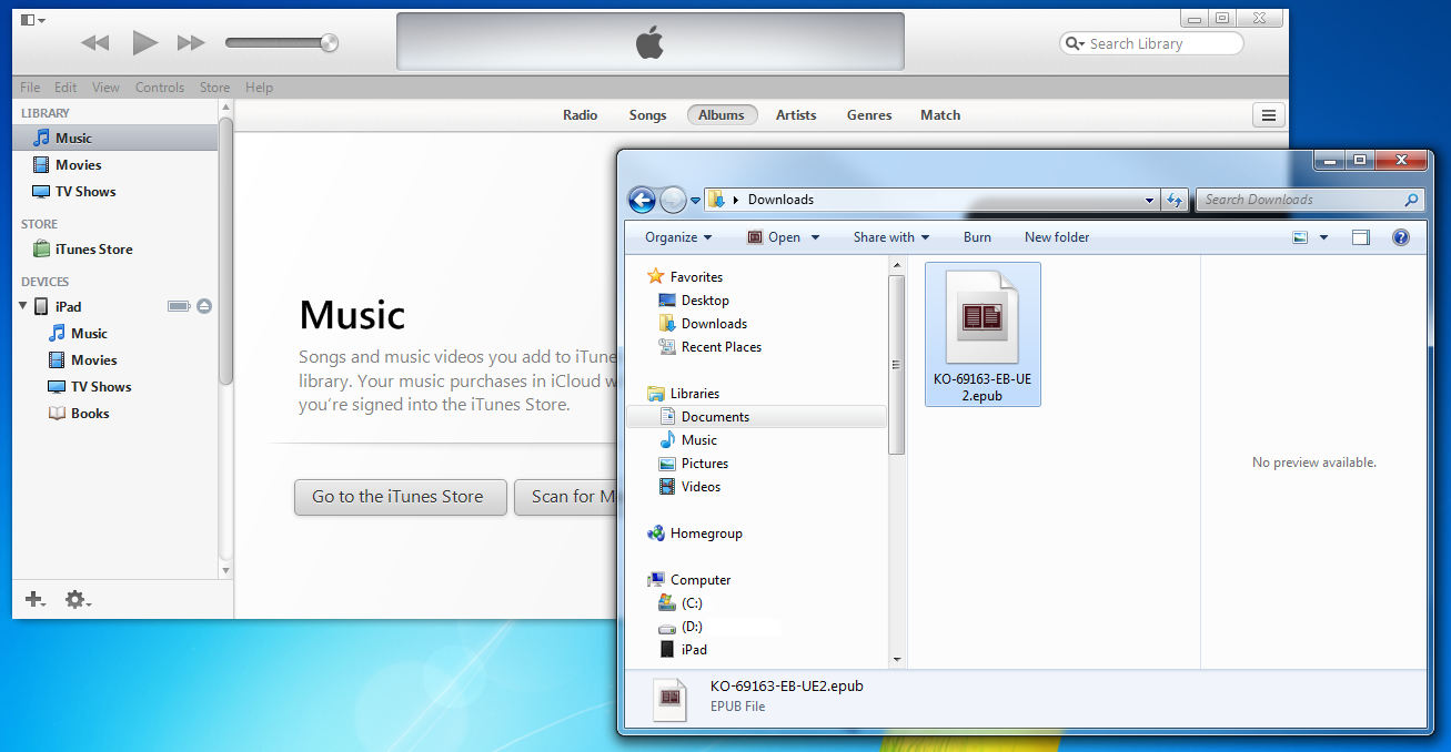 iTunes and Download Folder